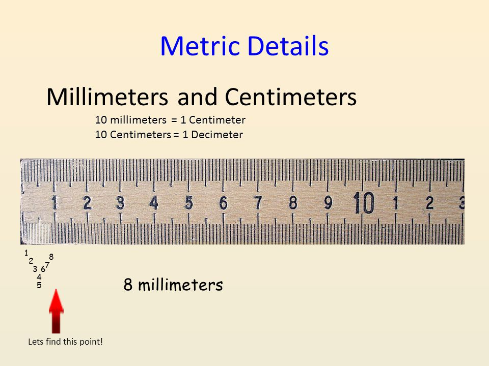 Measurement ppt video online download for Millimeters to meters