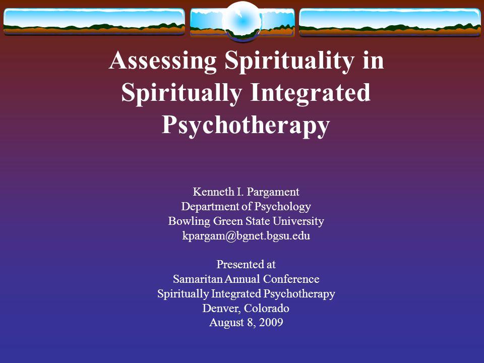 spirituality assessment