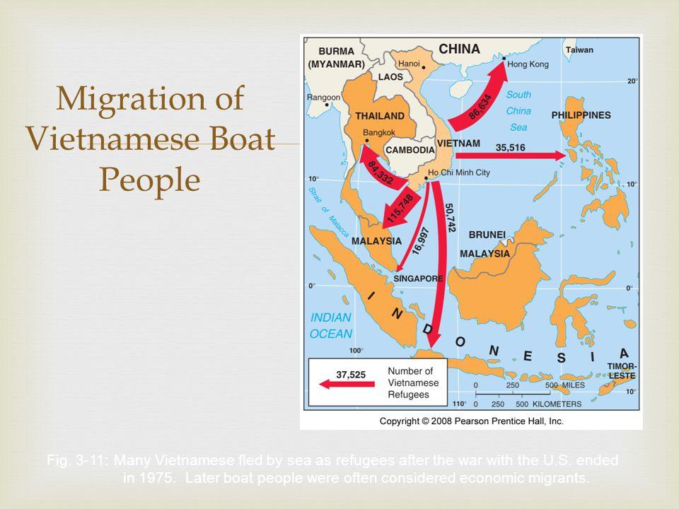 the migration of the vietnamese The end of the vietnam war, marked by the fall of saigon in 1975, precipitated the mass indochinese refugee crisis, which saw more than 2 million people flee the region, often on unseaworthy boats following the war, vietnamese migration was divided between humanitarian flows to the west, and labor.