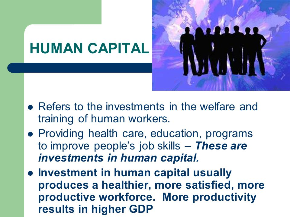 How Human Capital Can Affect You Financial