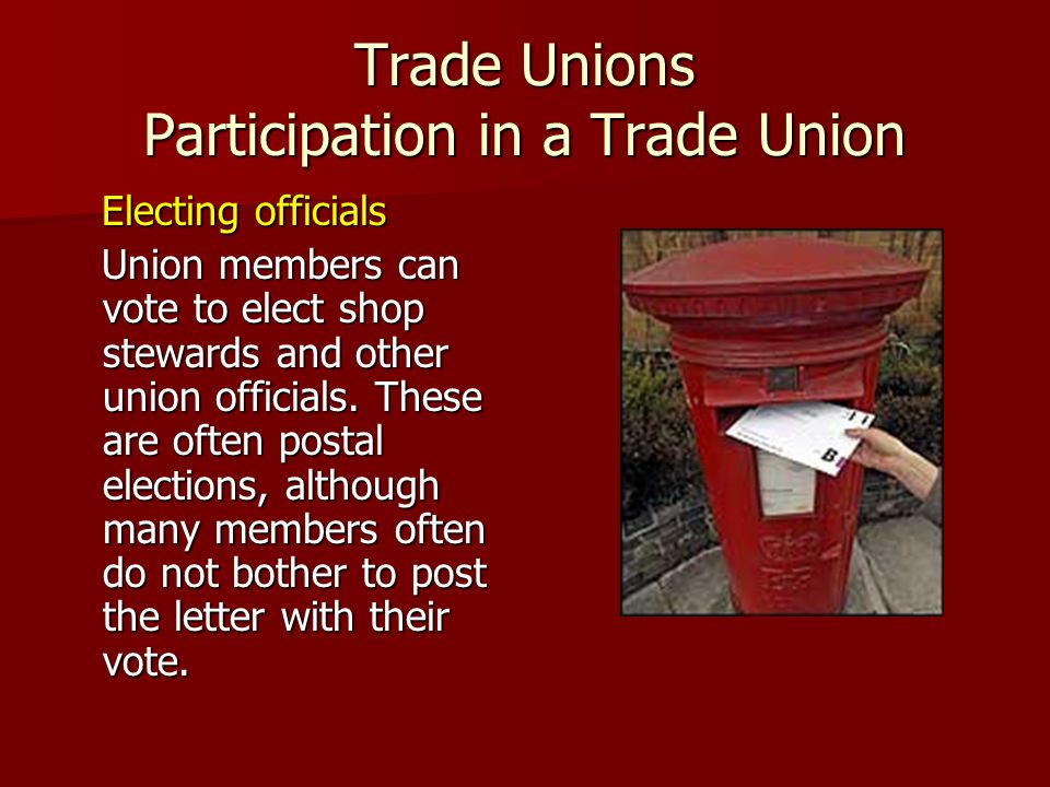 Rights of Trade Unions