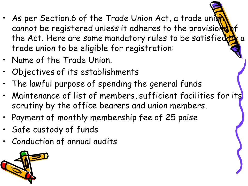 how to join a trade union