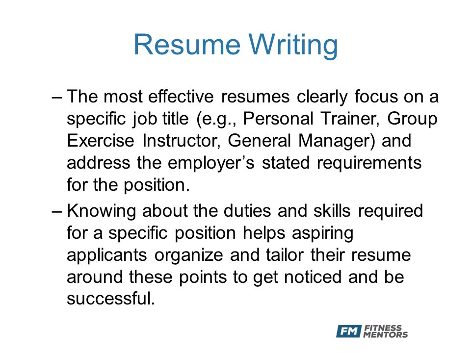 how to write a successful resume What makes a resume great 19 reasons why this is an excellent resume vivian augustine says you should never write your resume in third person because.