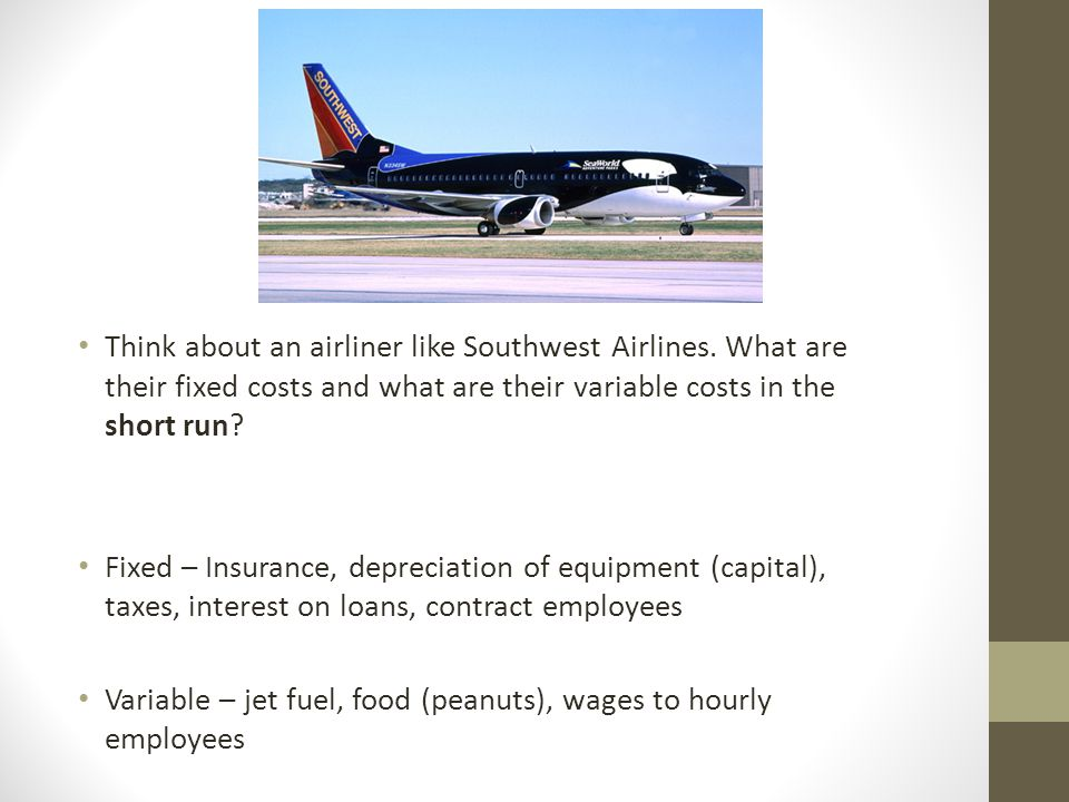 southwest airlines and microeconomics Gjorgjevik, kristijan, essays on applied microeconomics: airline networks and job search (2017) publicly as a constraint in the profit maximization problem that airlines face generates better out-of-sample predictions and leads to different southwest acquired ata airlines (november 19, 2008) and airtran air.