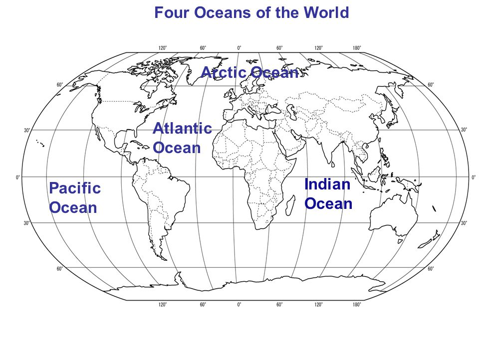 Basic Geography Th Grade Unit Ppt Video Online Download - Name the four oceans of the world