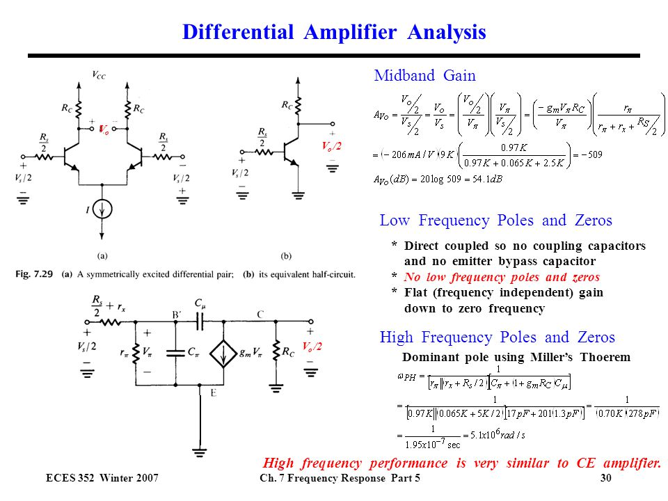 emitter coupled differential amplifier pdf