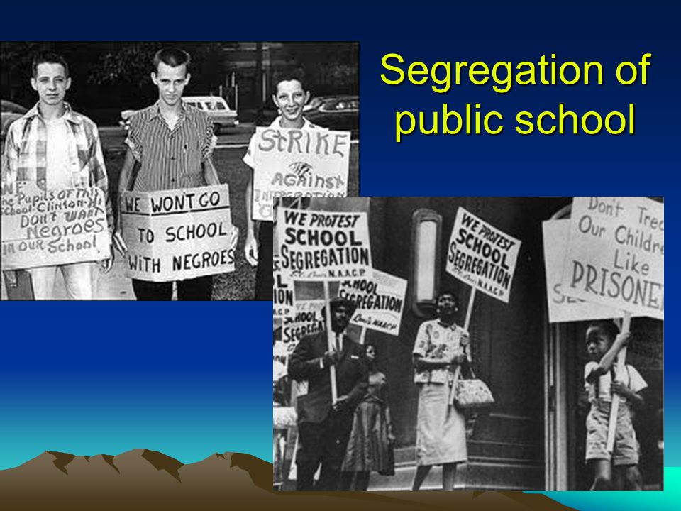 segregation of public schools Board of education, school segregation is still rendering the nation's most diverse  public school district its most divided, putting children on.