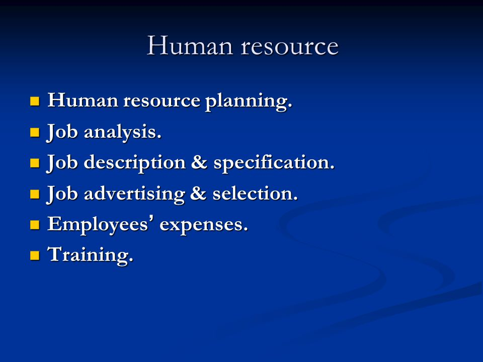 Important MBA HR terms