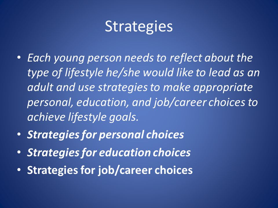 be able to identify personal skills to achieve strategic ambitions Strategic career self-management from the state university of new york you'll be able to identify critical factors for career success in today's economy and recognize that building a strong career brand requires a combination of superior marketable skills and a powerful personal image.
