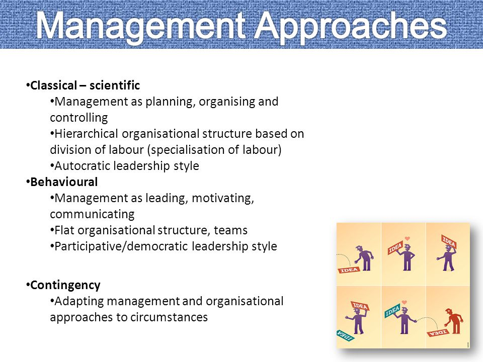 how classical approaches to management have What is the difference between traditional and contemporary leadership  change management  the difference between traditional and contemporary.
