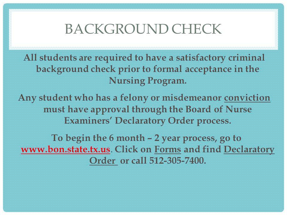background checks of students Criminal background checks for students, student services at the university of kansas medical center.