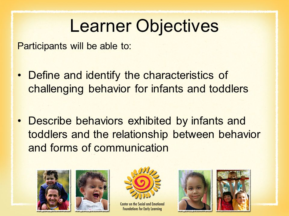 characteristics and causes of challenging behavior Identify and remove the cause of challenging behaviors viii approach  d2  definition and characteristics of non-restrictive methods that may be used in.