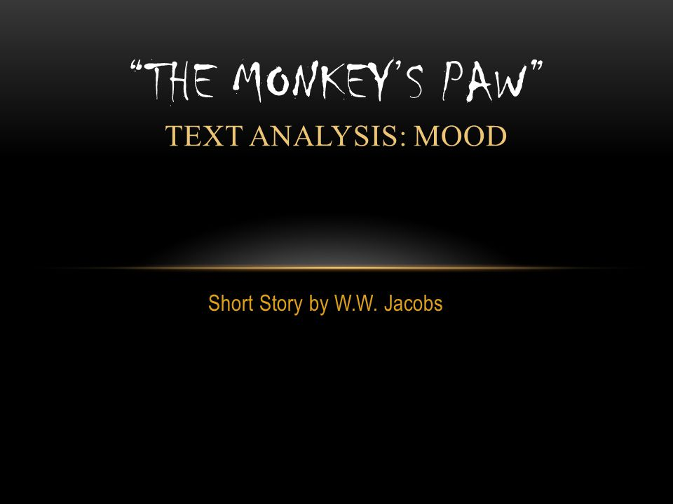 Characters analysis essay monkey's paw