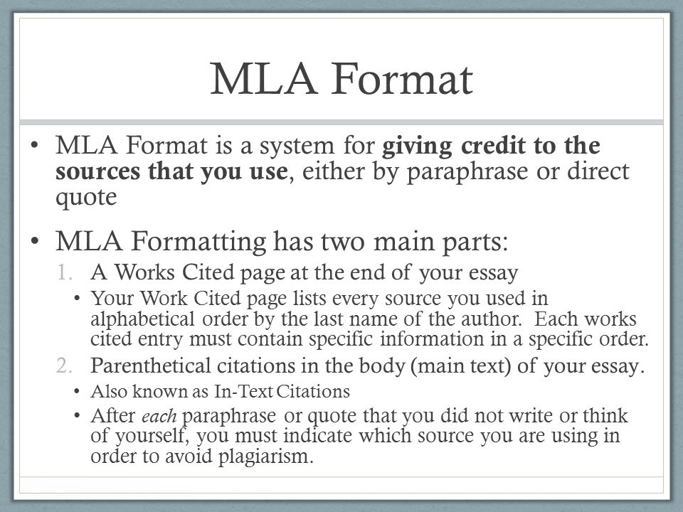 quotes in essays mla format