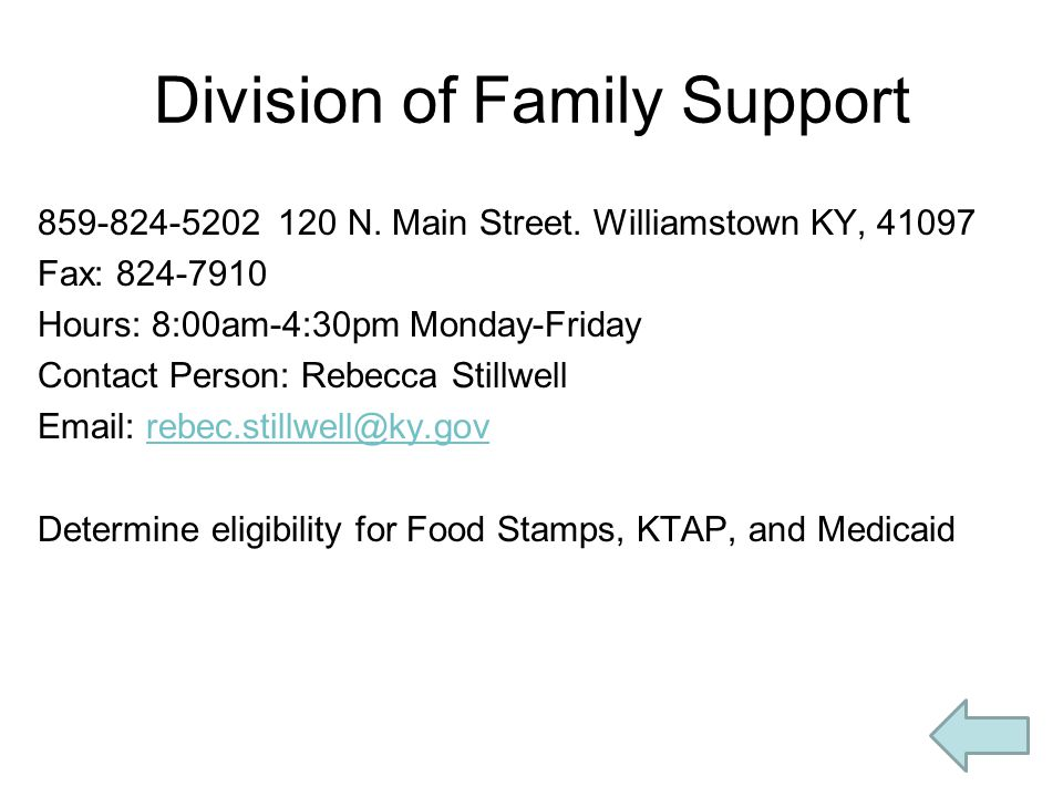 Food Stamps Florence Ky