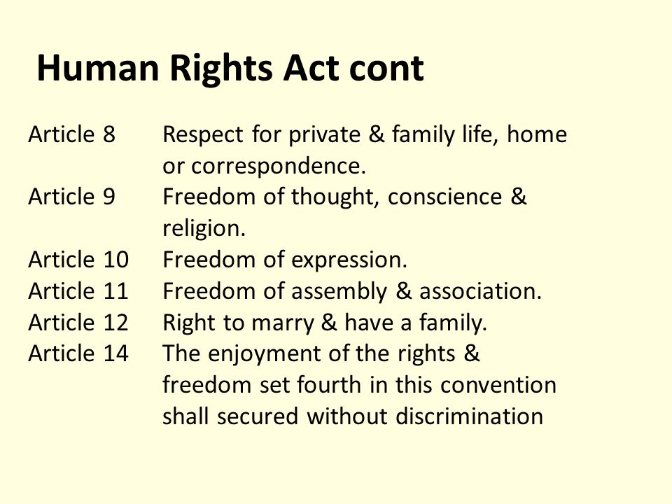 Human rights and civil liberties in the UK