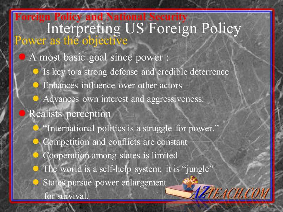 national interest and foreign policy pdf