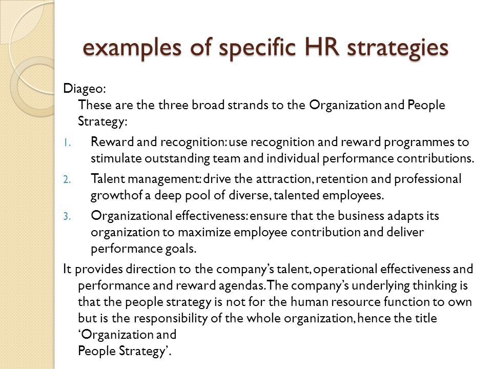 human resource management strategy people performance pdf