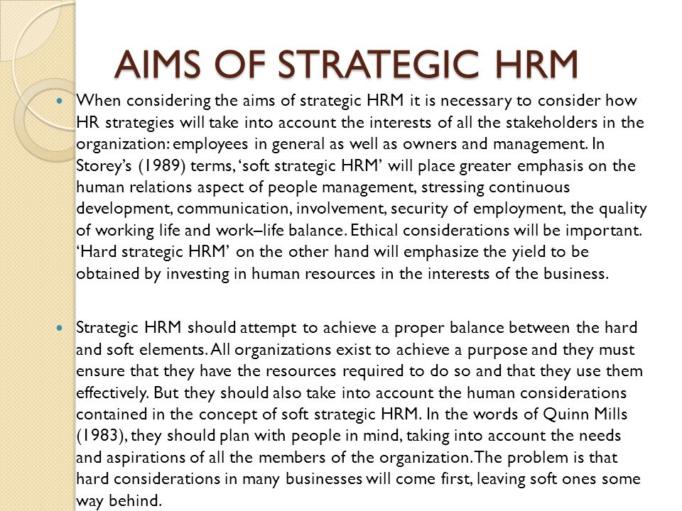 ethical issues in hrm strategy By the society for human resource management (shrm) and the ethics  resource  ethical problems for business (jennings, 2003), cpc has strategies  to.