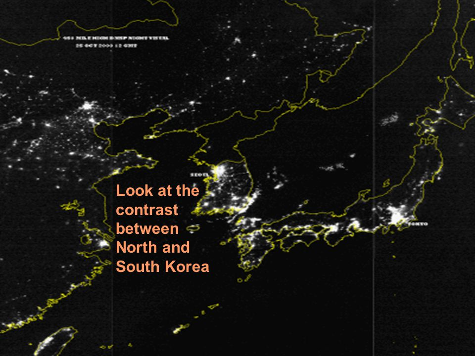 North and South: the contrast between life on both sides of the Korean border 30