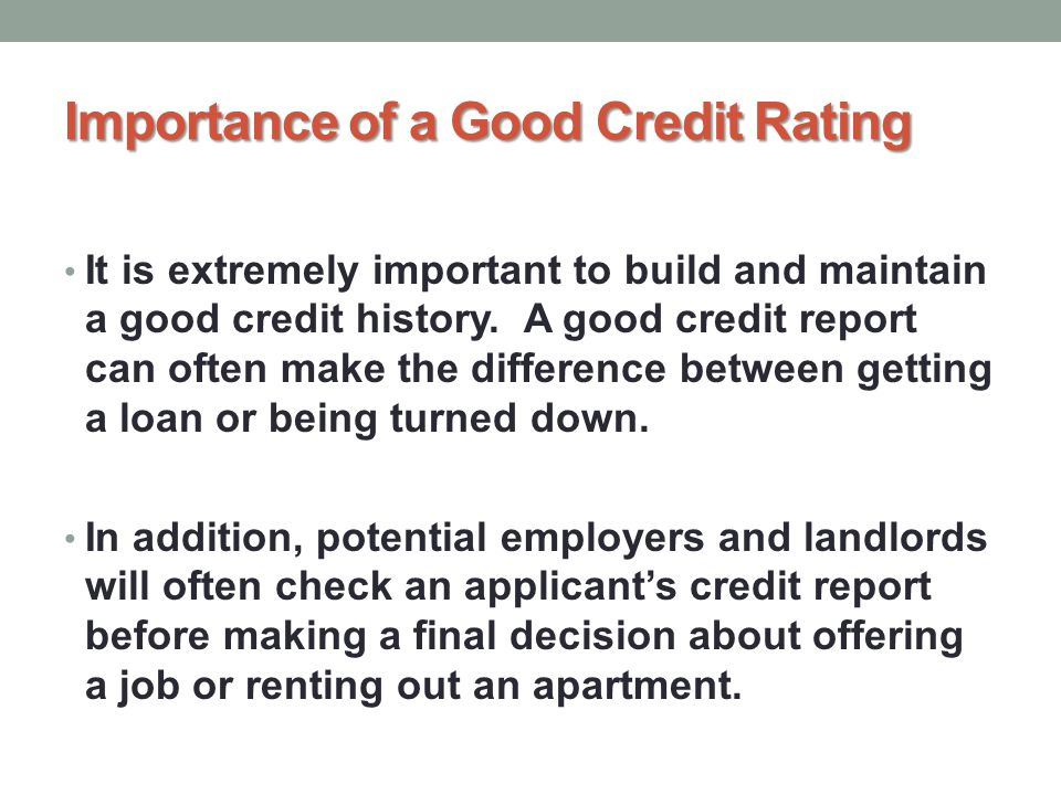 Can You Build Credit Rating Without A Credit Card