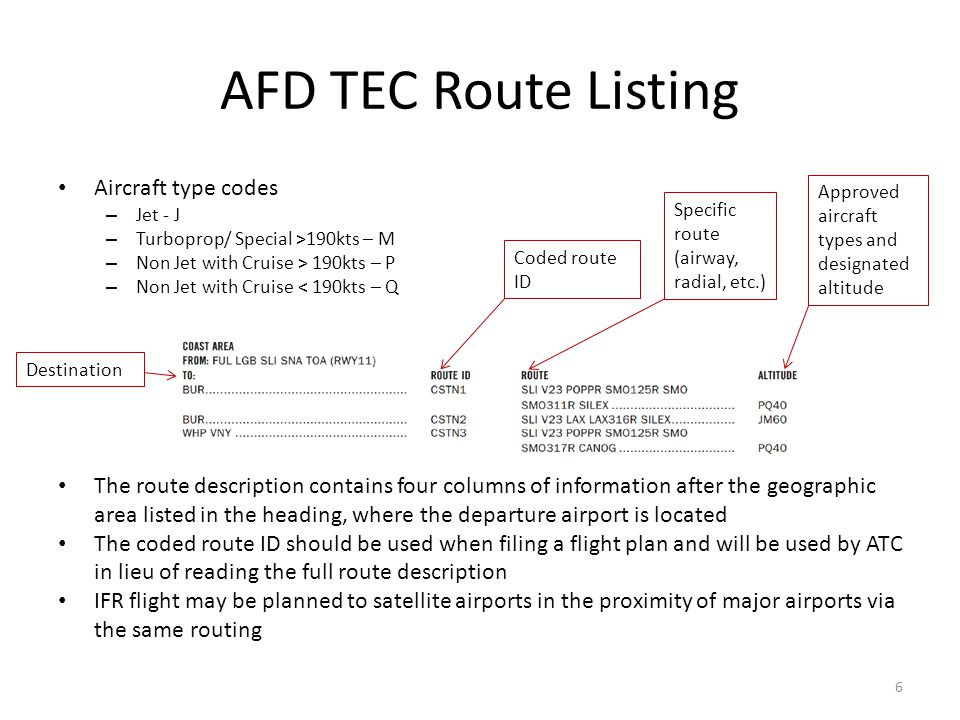 Tower Enroute Control Procedures - ppt download - photo#14