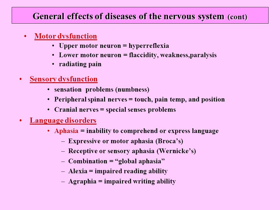 neurological system disorders ppt download