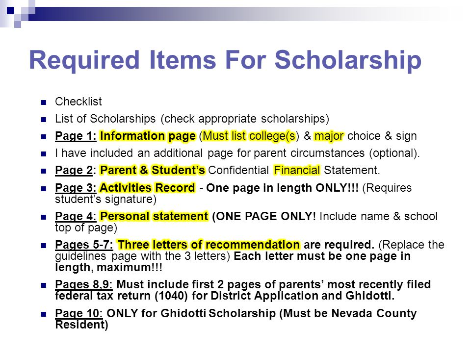 Single Parent Scholarships