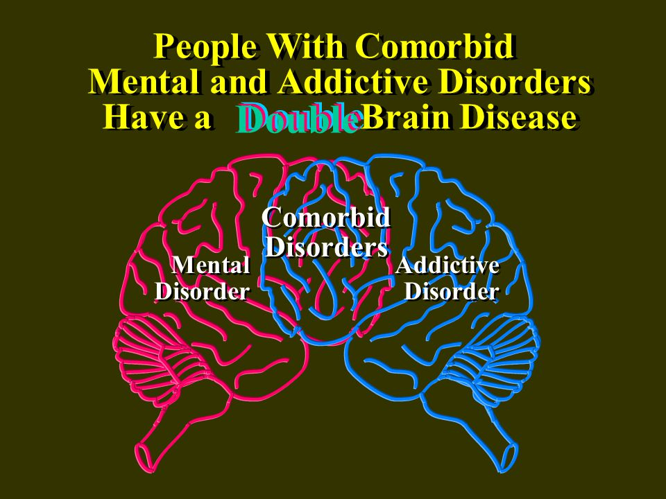 Comorbidity: Substance Use Disorders and Other Mental Illnesses