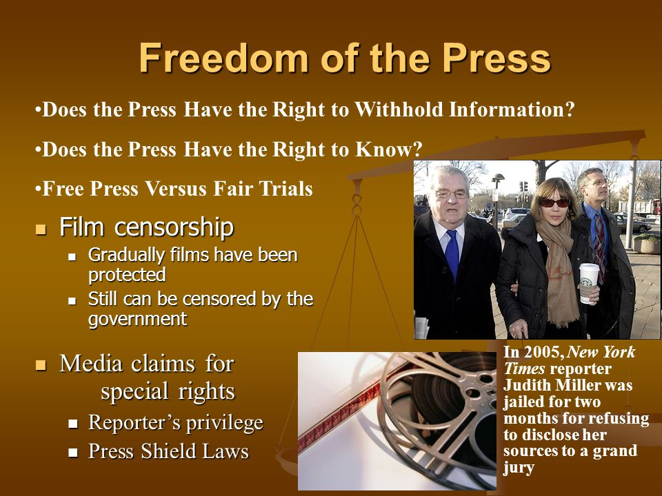 how does media censorship violate freedom To fully understand the issues of censorship and freedom of speech and how they apply to modern media, we must first explore the terms themselves.