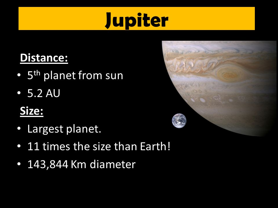 Jupiter Size And Distance