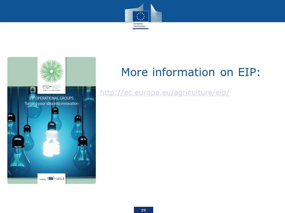 More information on EIP: