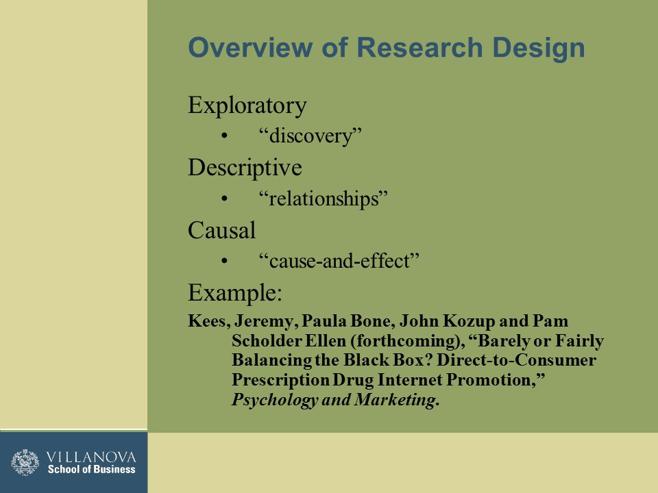 Introduction To Research Design And Exploratory Research