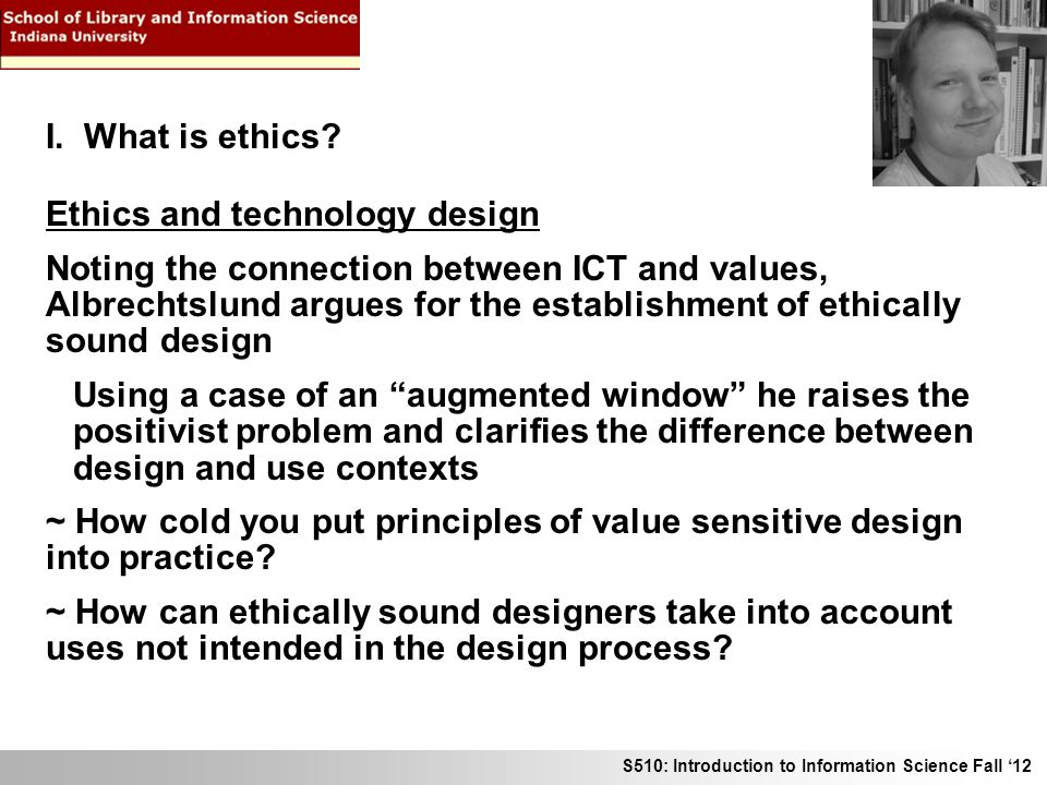 ethics and technology what is the Website of the institute for ethics and emerging technologies.