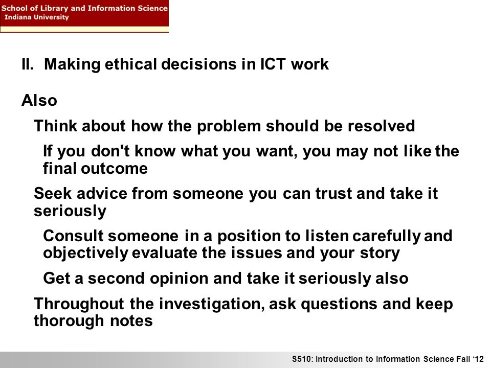 ethical choices narrative To understand and accept a patient's moral choices, a practitioner must  acknowledge that the illness narrative has many potential interpretations but that  the.
