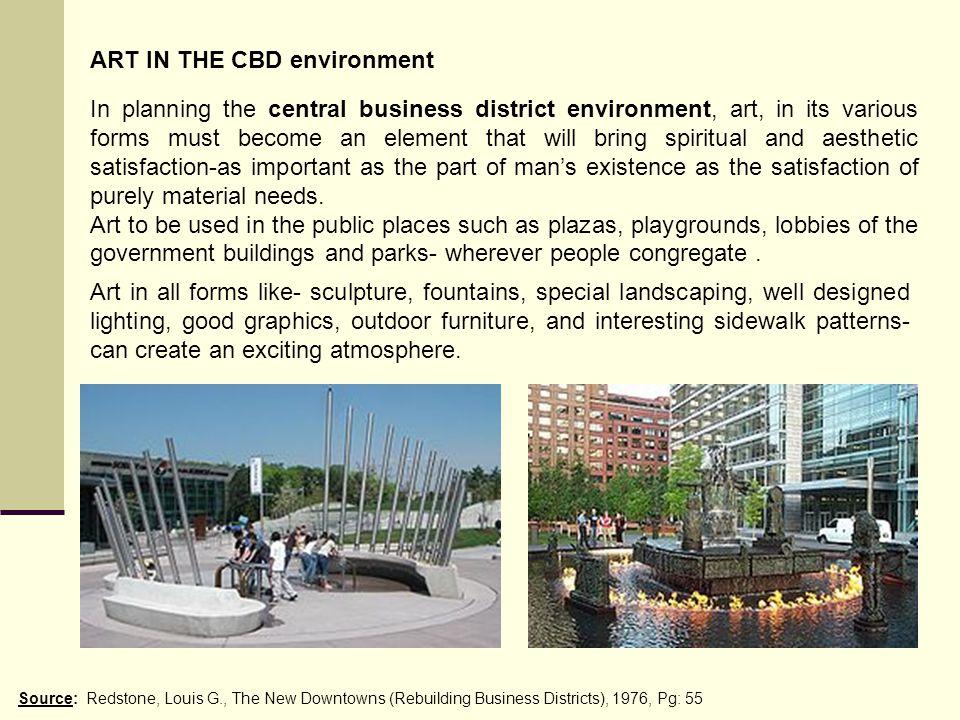 ART IN THE CBD environment
