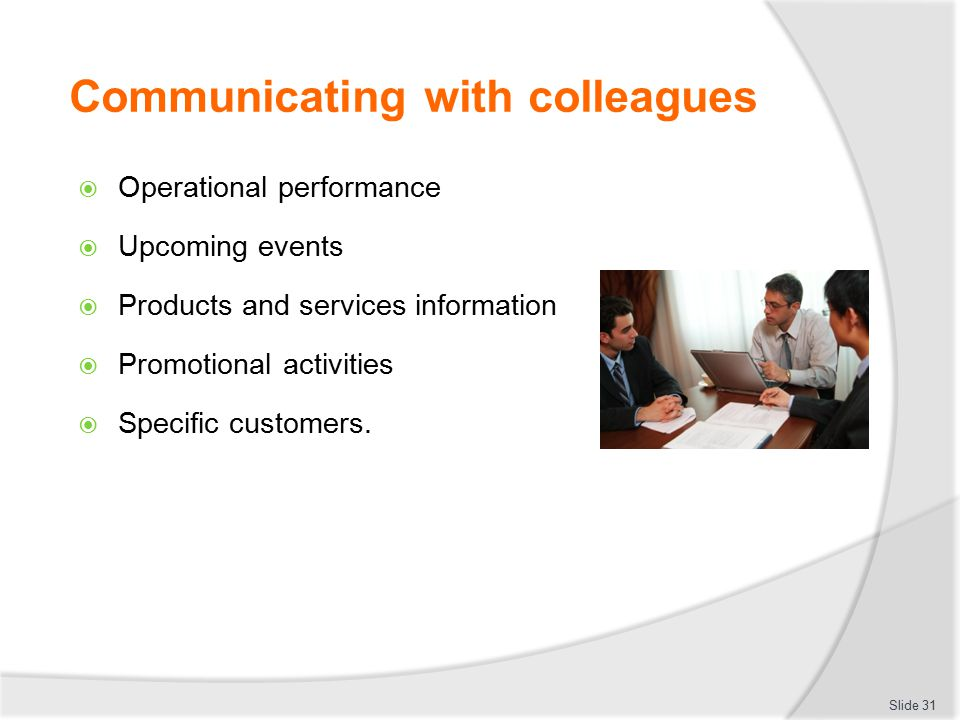 discuss the importance of communicating effectively But are you communicating effectively  openly discuss what is required to get the job done and find solutions  developing effective communication skills.