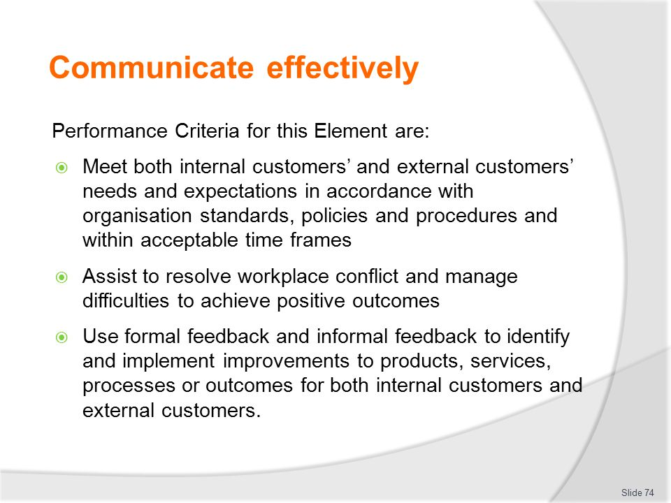 external customers needs An internal customer is someone who helps the organization serve the end customer he is an integral part of the value chain as profit is the main motive of an organization, the organization needs to take care not only of the end customers but also people who are serving the end customers ie the internal customers.