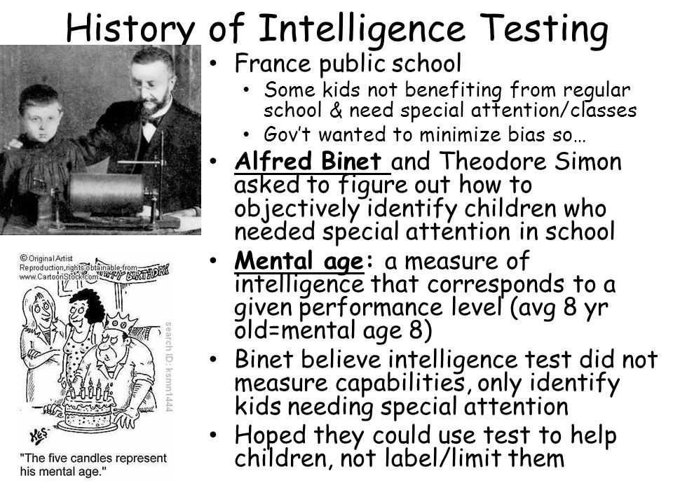 history of intelligence testing pdf