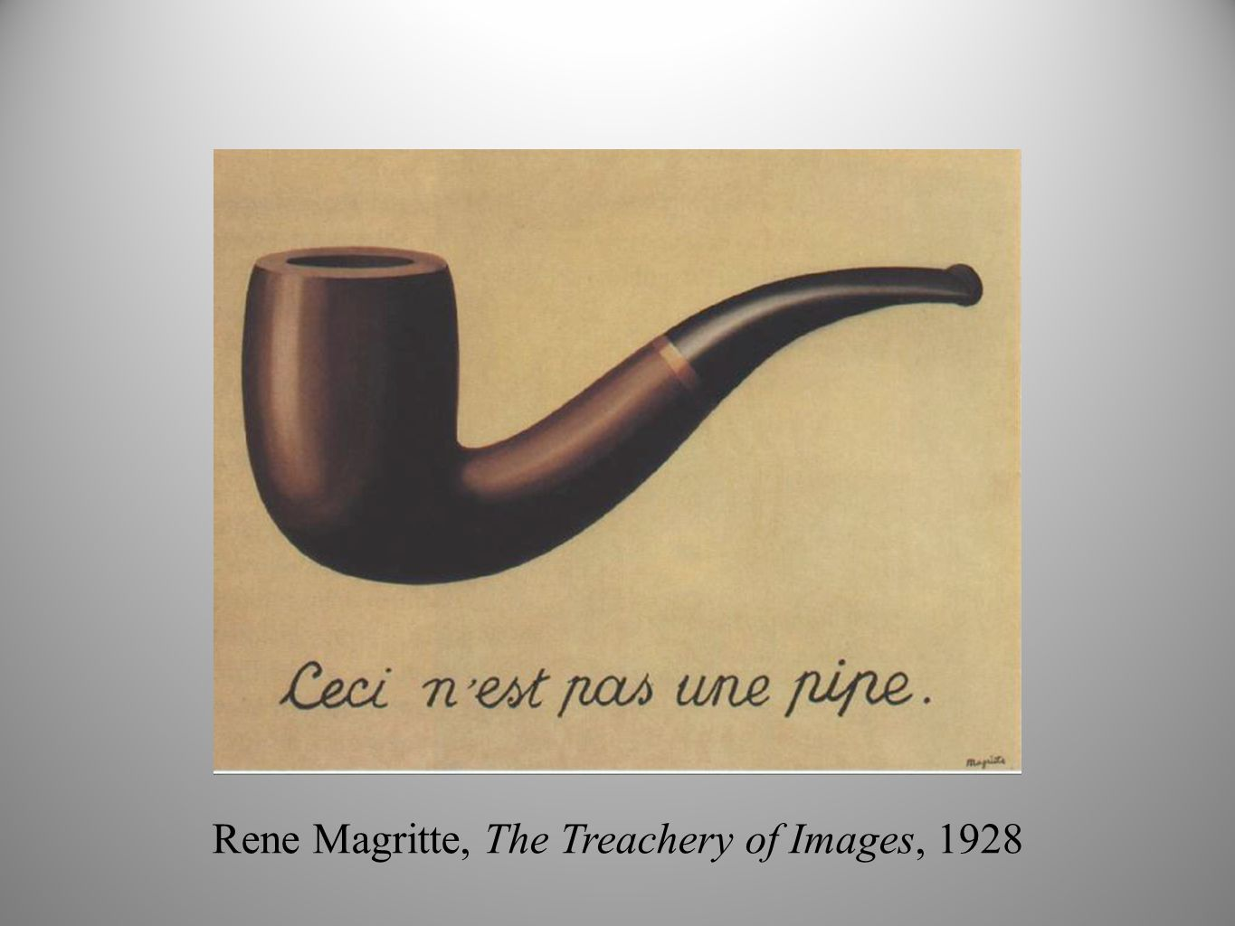 Rene Magritte The Treachery Of Images Surrealism Still: Anem...