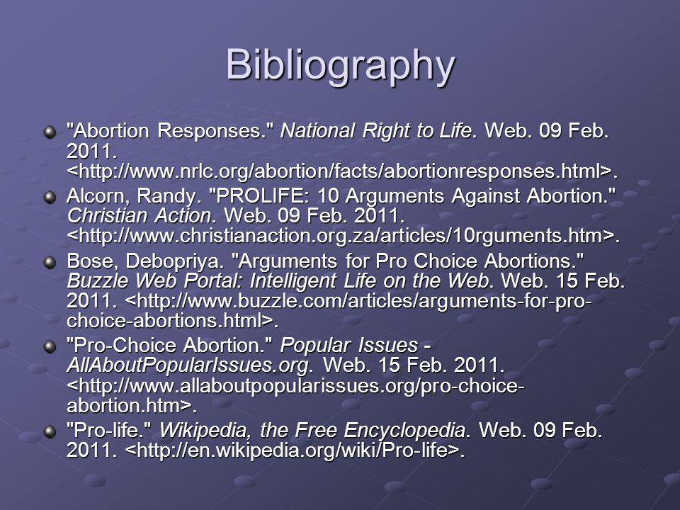 Abortion Should Be Illegal Essay