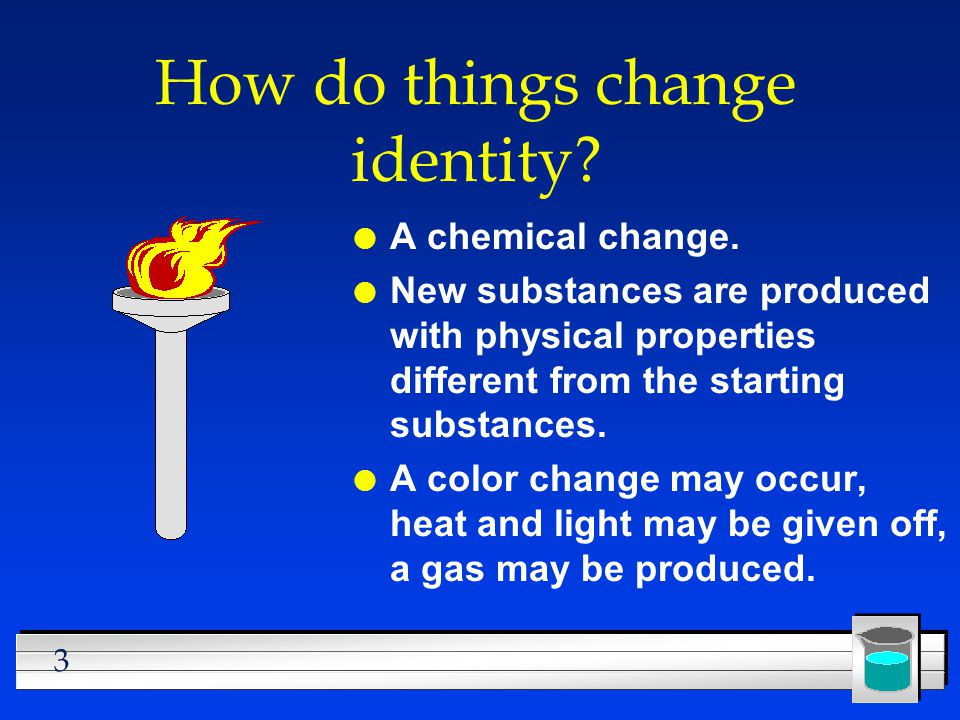 How do things change identity