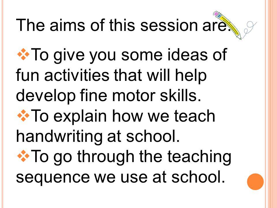 Handwriting Workshop For Reception Parents - ppt download