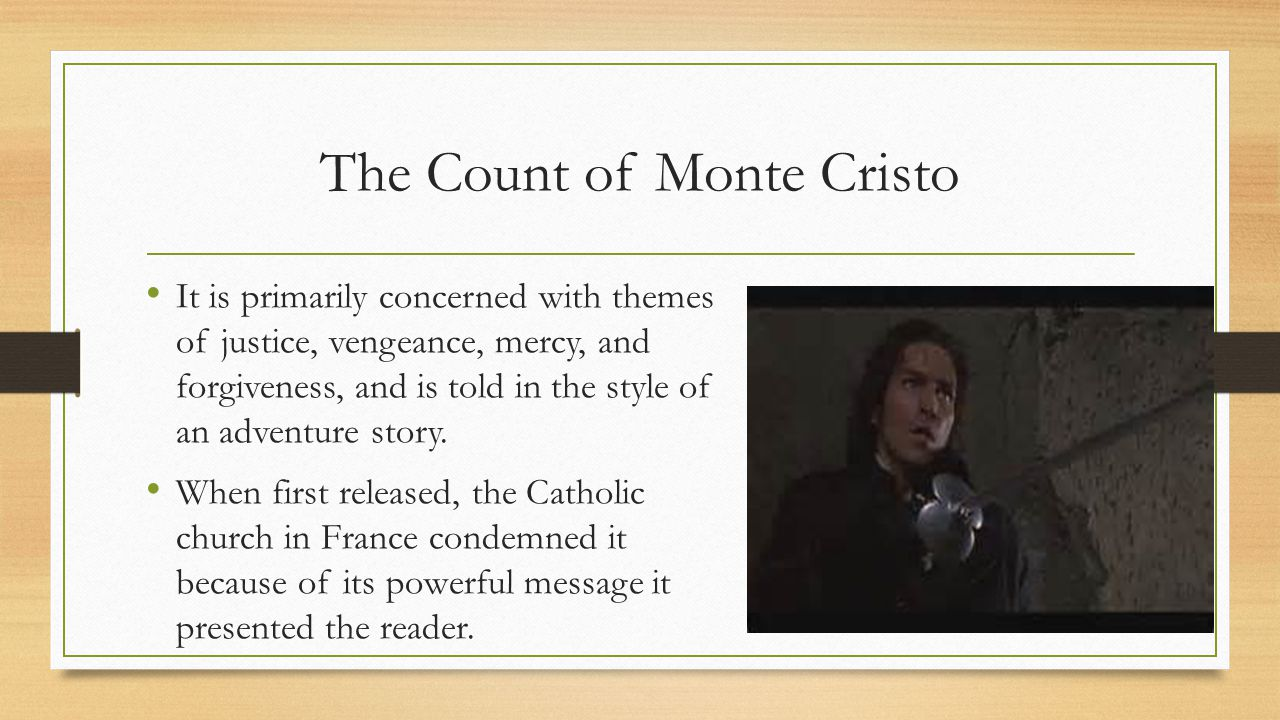 justice vengeance and forgiveness in the count of monte cristo by alexandre dumas In a labyrinthine tale plump with themes of justice, vengeance,  the count of monte cristo remains one of  the count of monte cristo alexandre dumas limited.
