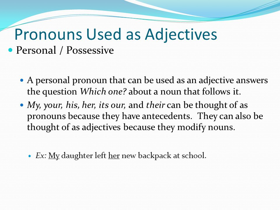 nouns used as adjectives pdf