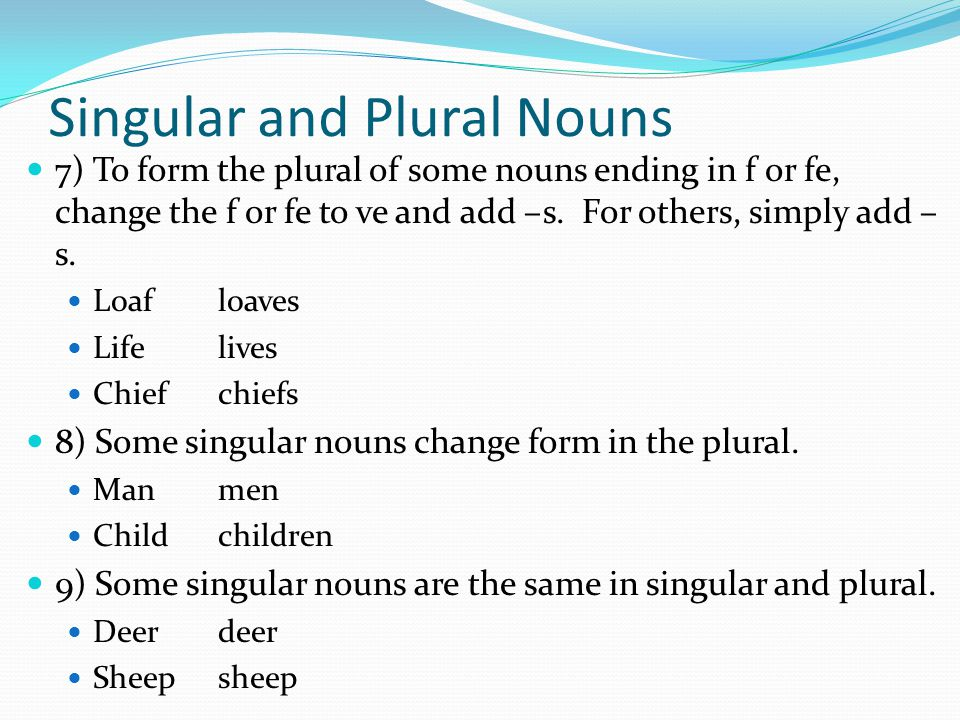 Nouns A noun is a word used to name a person, place, thing or idea ...