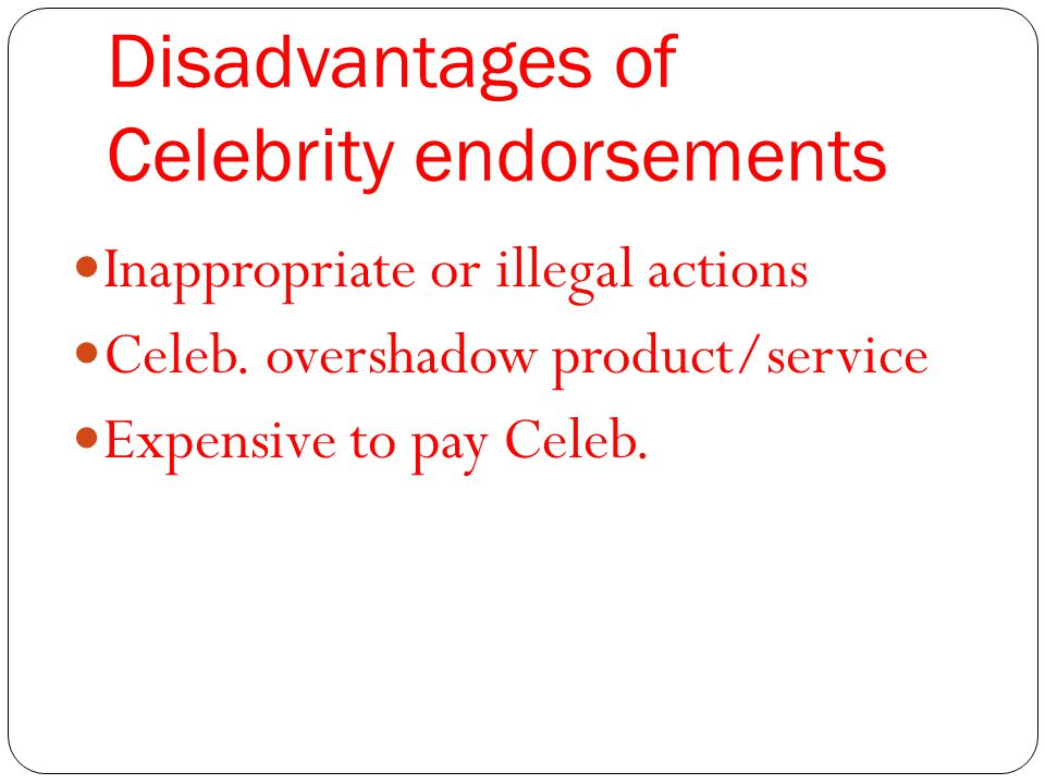 Advantages and Disadvantages of Being a Celebrity