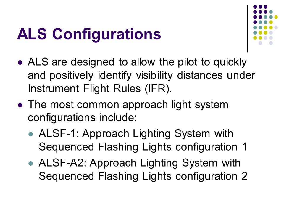 Lecture 12 Approach Lighting System Ppt Video Online