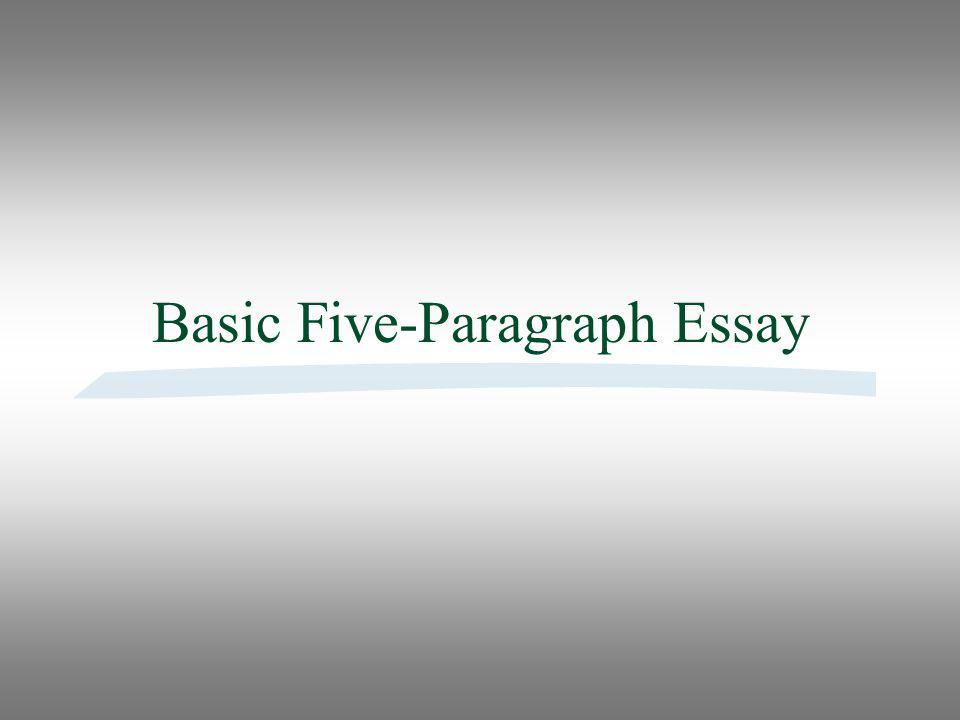 5 paragraph essay powerpoint presentation Five paragraph essay introduction to writing 5 paragraph essay - introduction to writing - middle school 5 paragraph essay.