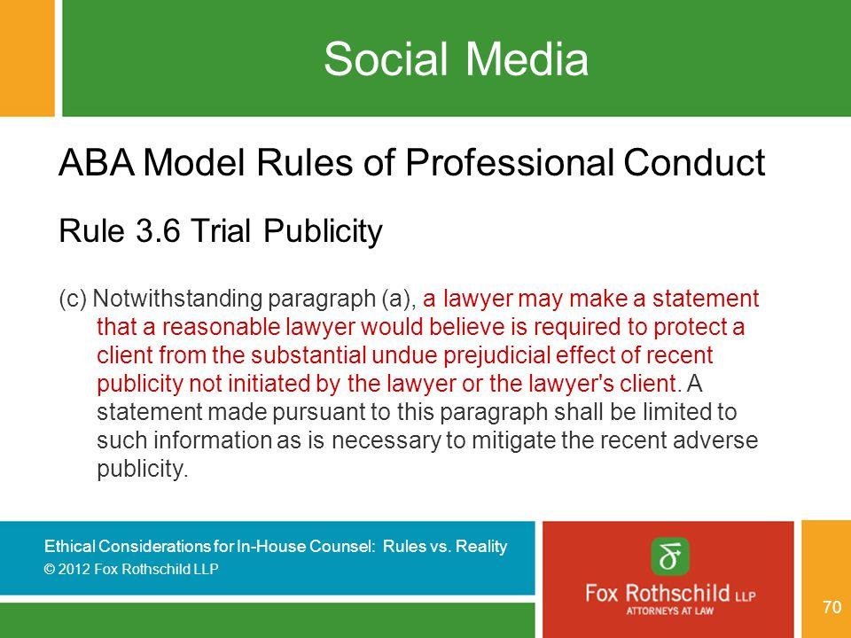 model rules of professional conduct pdf